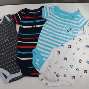 Carter's NB onesies for boys
